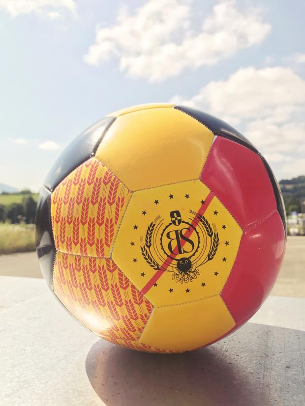 Ballon de foot-ball sur mesure